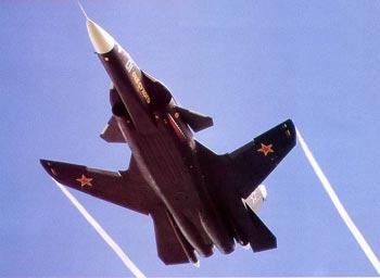 Есть Су-47 с обратной стреловидностью.